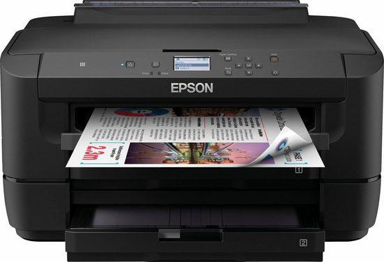 Epson WorkForce WF-7210DTW Tintenstrahldrucker, (WLAN (Wi-Fi), LAN (Ethernet), NFC)