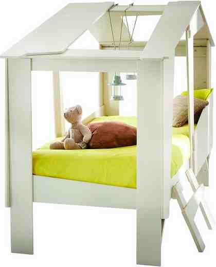 Demeyere Kinderbett, im Baumhausdesign
