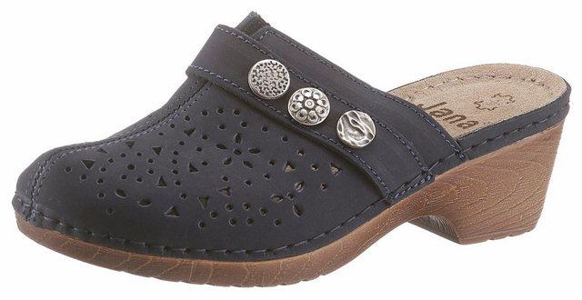 jana -  Clog in bequemer Schuhweite G (weit)