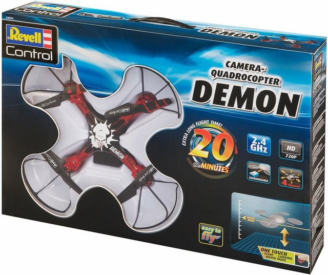 RC Drohne Revell® control Demon mit Kamera auf rc-flugzeug-kaufen.de ansehen