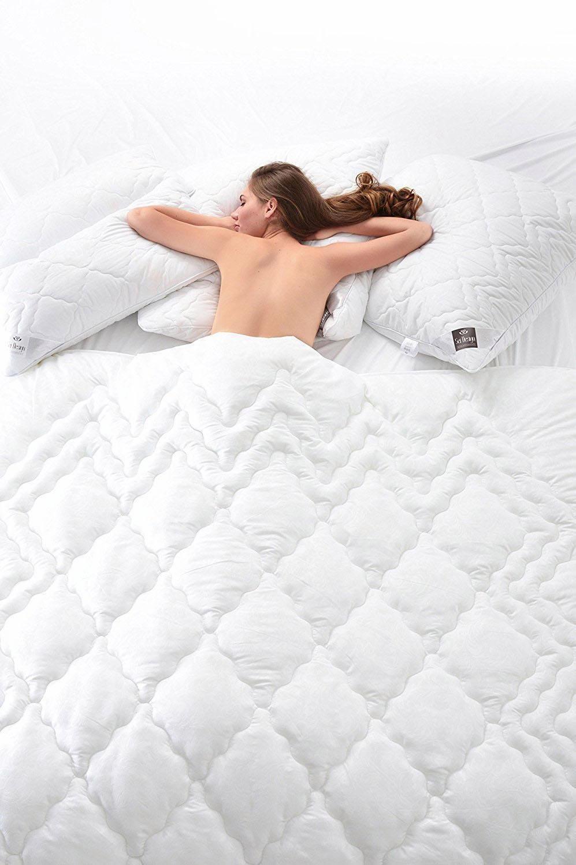 Kunstfaserbettdecke, »AIRDREAM Comfort«, SEI Design, warm, (1-tlg) | Heimtextilien > Decken und Kissen > Bettdecken | SEI Design
