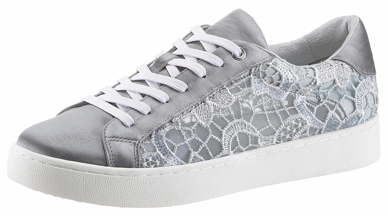 Arizona Sneaker, mit Häkel-Applikation kaufen  blau