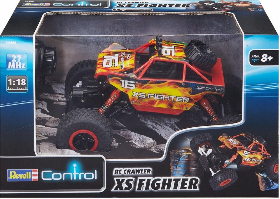 revell rc auto revell control rc crawler xs fighter. Black Bedroom Furniture Sets. Home Design Ideas