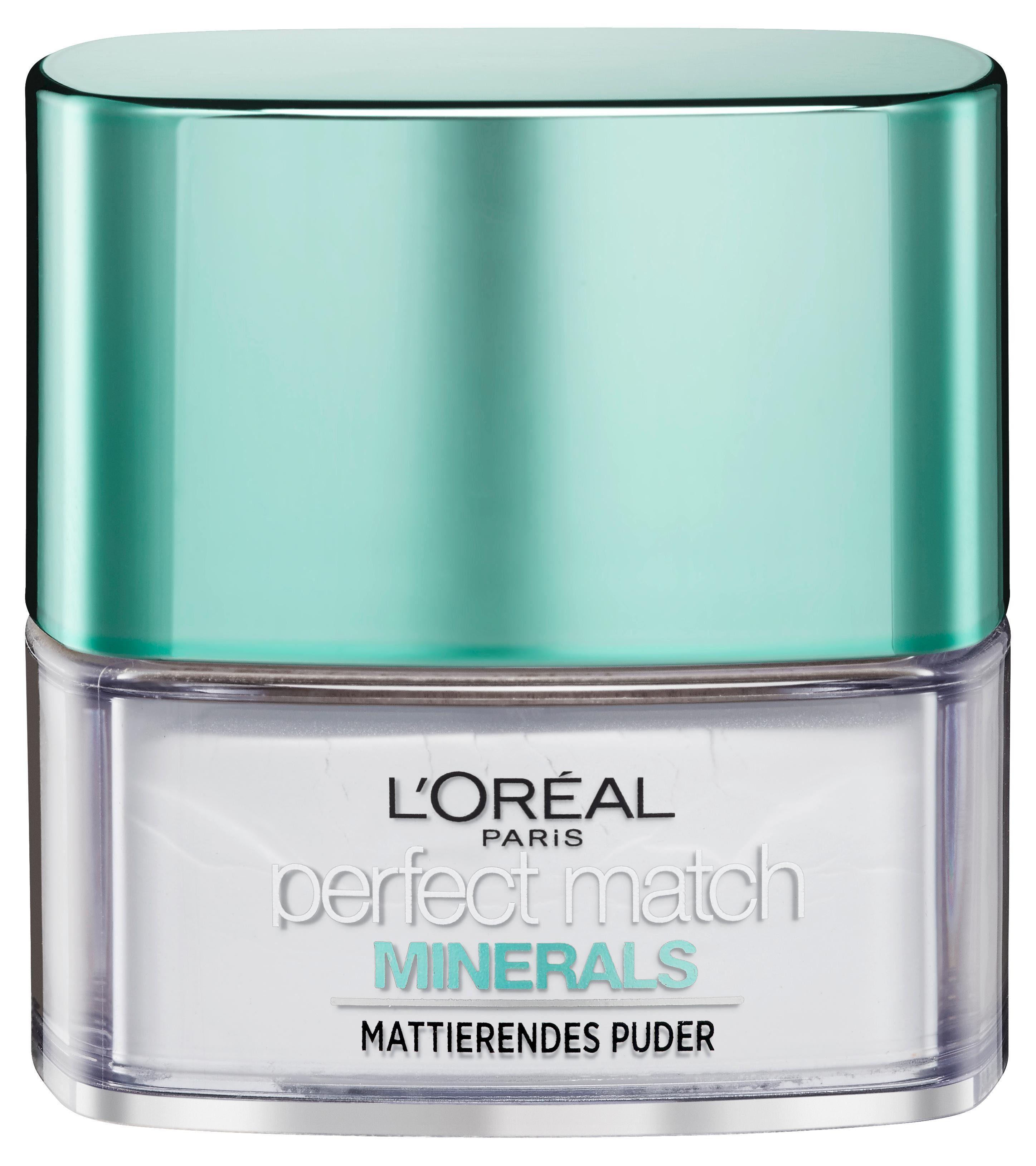 L'Oréal Paris, »Perfect Match Minerals Finishing«, Make-up