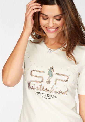 Sportalm Kitzbühel T-Shirt, mit Zierperlen