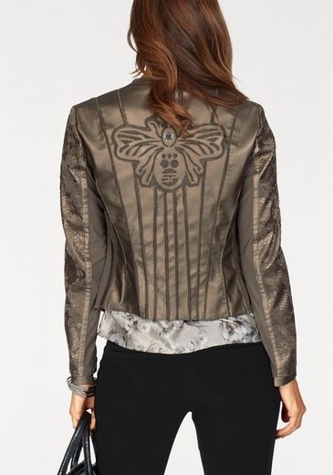 Sportalm Kitzbühel Jack Blazer With Lace Detail On The Sleeves