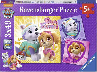 Ravensburger Puzzle »Bezaubernde Hundemädchen«, 147 Puzzleteile, Made in Europe, FSC® - schützt Wald - weltweit