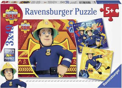 Ravensburger Puzzle »Bei Gefahr Sam rufen«, 147 Puzzleteile, Made in Europe, FSC® - schützt Wald - weltweit
