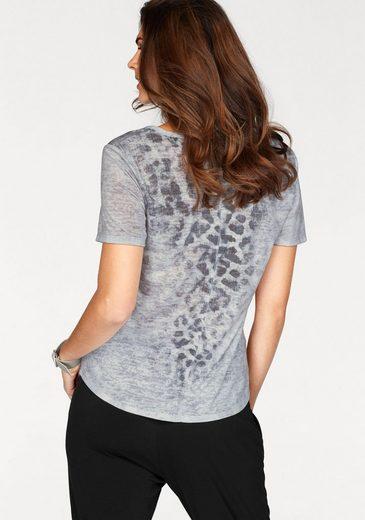Monari T-Shirt, mit aufregedem Print