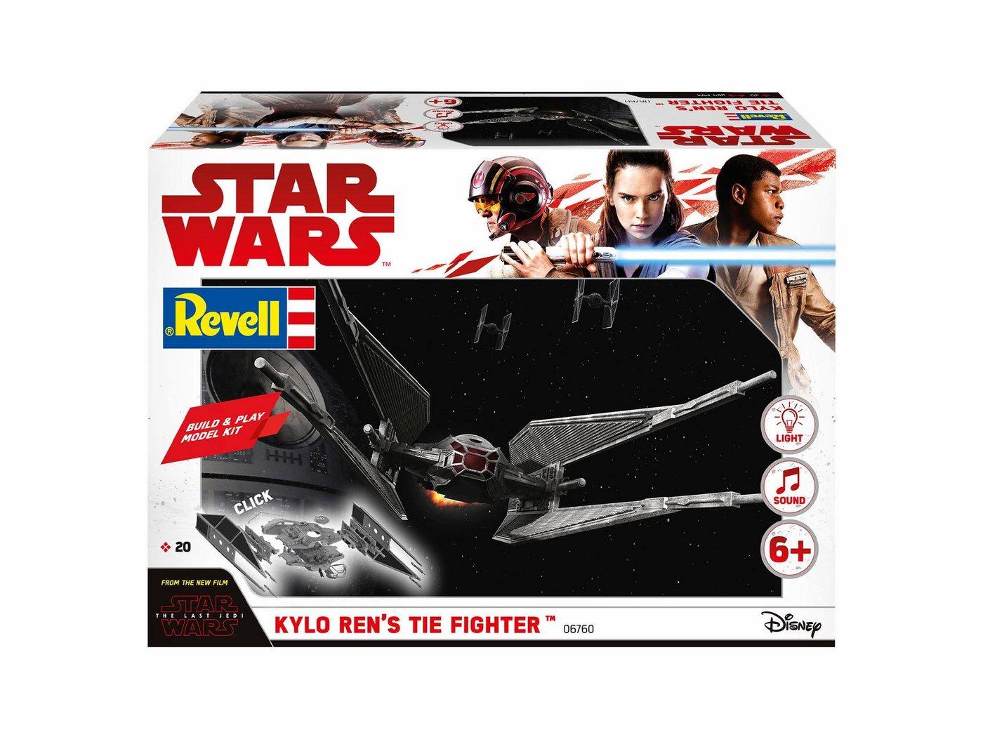 Revell Modellbausatz Raumschiff, »Disney Star Wars Kylo Ren´s TIE Fighter (Build&Play)«