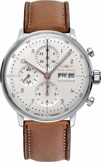 IRON ANNIE Chronograph »Bauhaus, 5018-4«, Made in Germany