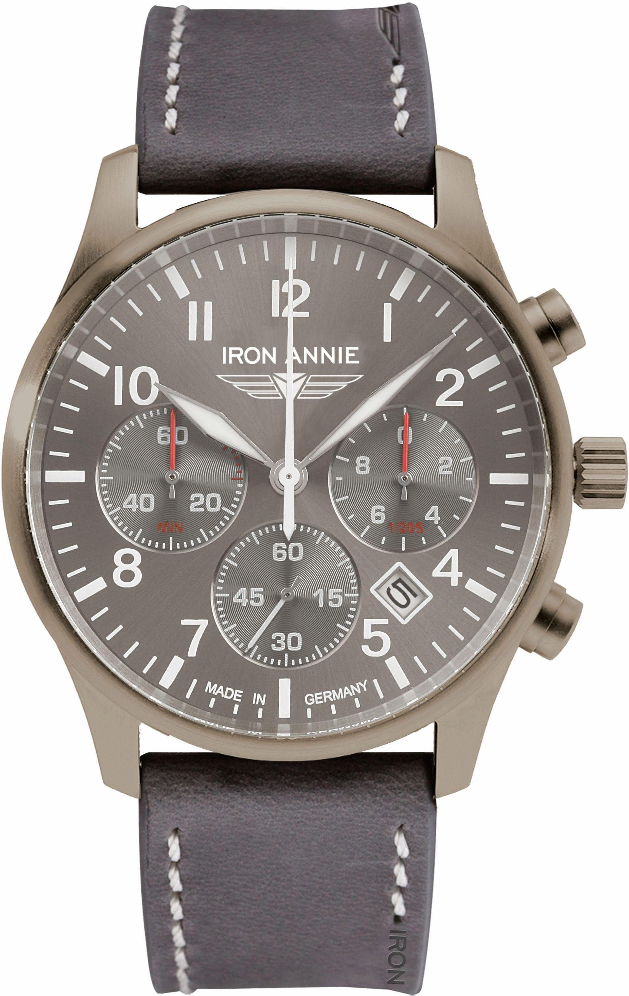 IRON ANNIE Chronograph »D-AQUI, 56744«, Made in Germany