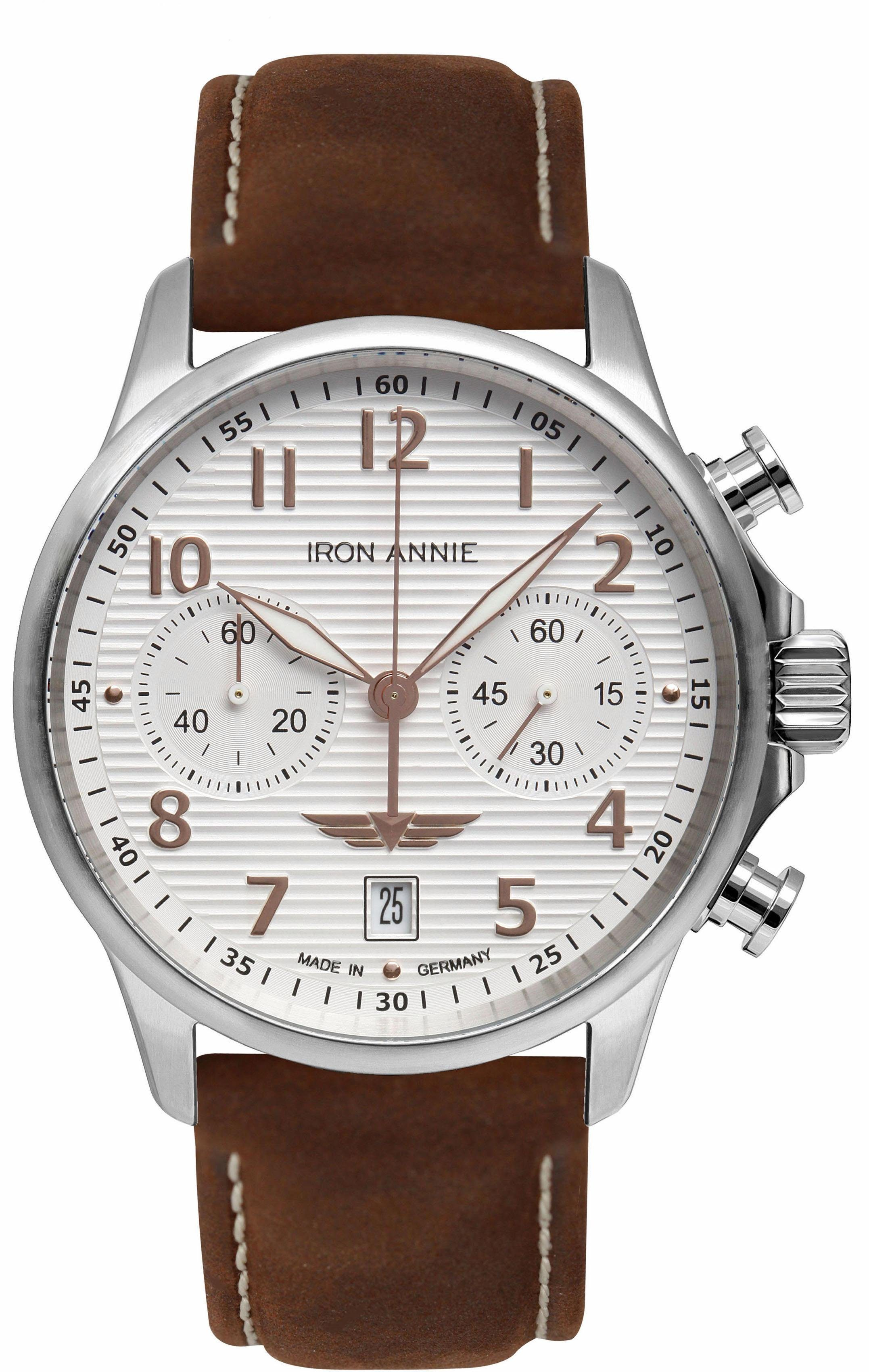 IRON ANNIE Chronograph »D-AQUI, 58764« Made in Germany