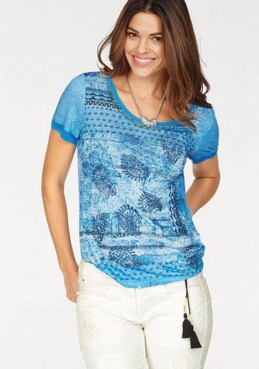 Sportalm Kitzbühel T-Shirt, mit tollen Glanzdetails