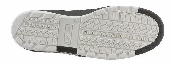Yellow Cab Schnürboots, im Used-Look