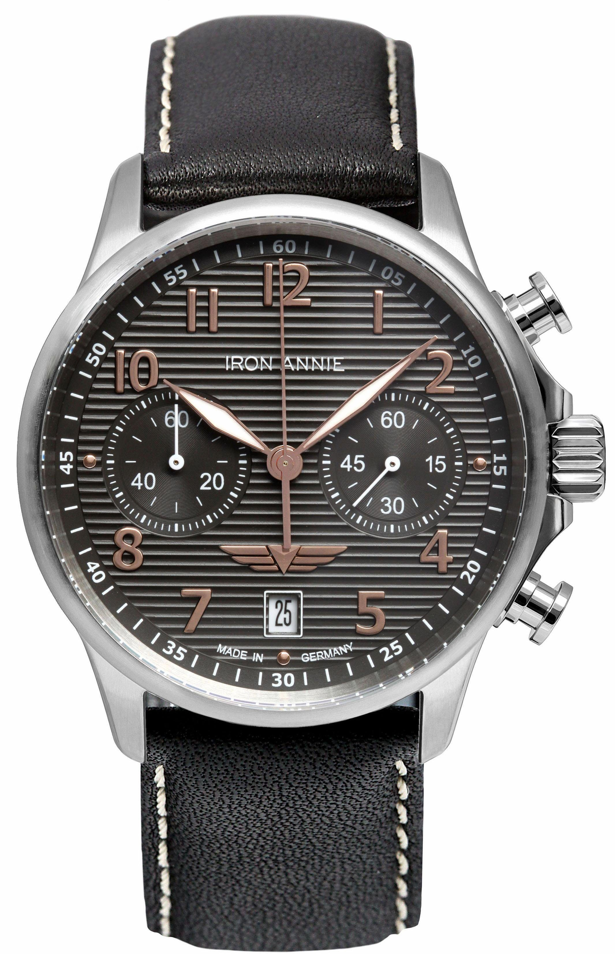IRON ANNIE Chronograph »D-AQUI, 58765«, Made in Germany