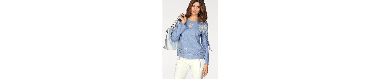Sportalm Kitzbühel Sweatshirt, mit tollen Perlen- & Paillettendetails