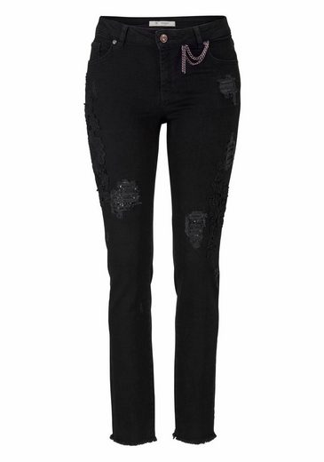Monari Destroyed-Jeans, mit tollen Details