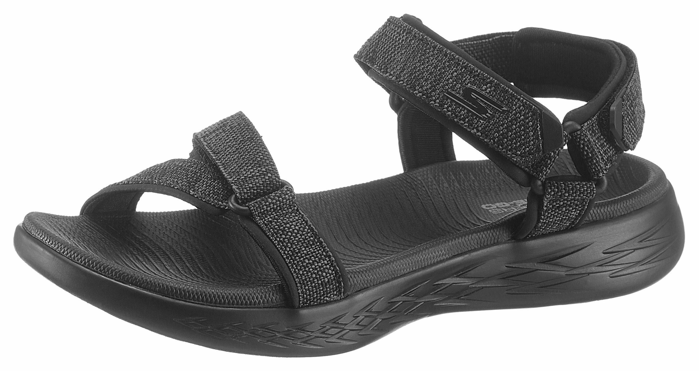 SKECHERS PERFORMANCE Sandale, im sportiven Stil, schwarz, schwarz