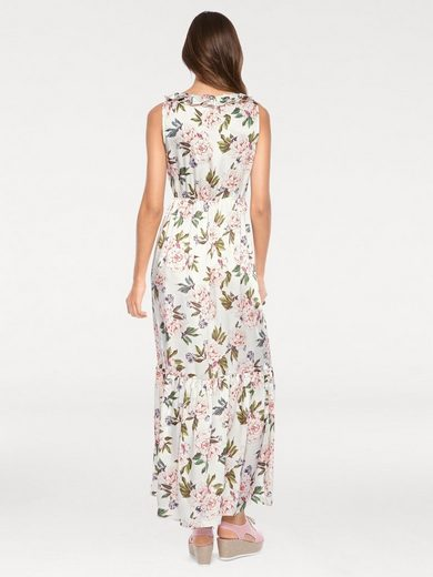 Linea Tesini By Heine Maxi Dress With Floral Print