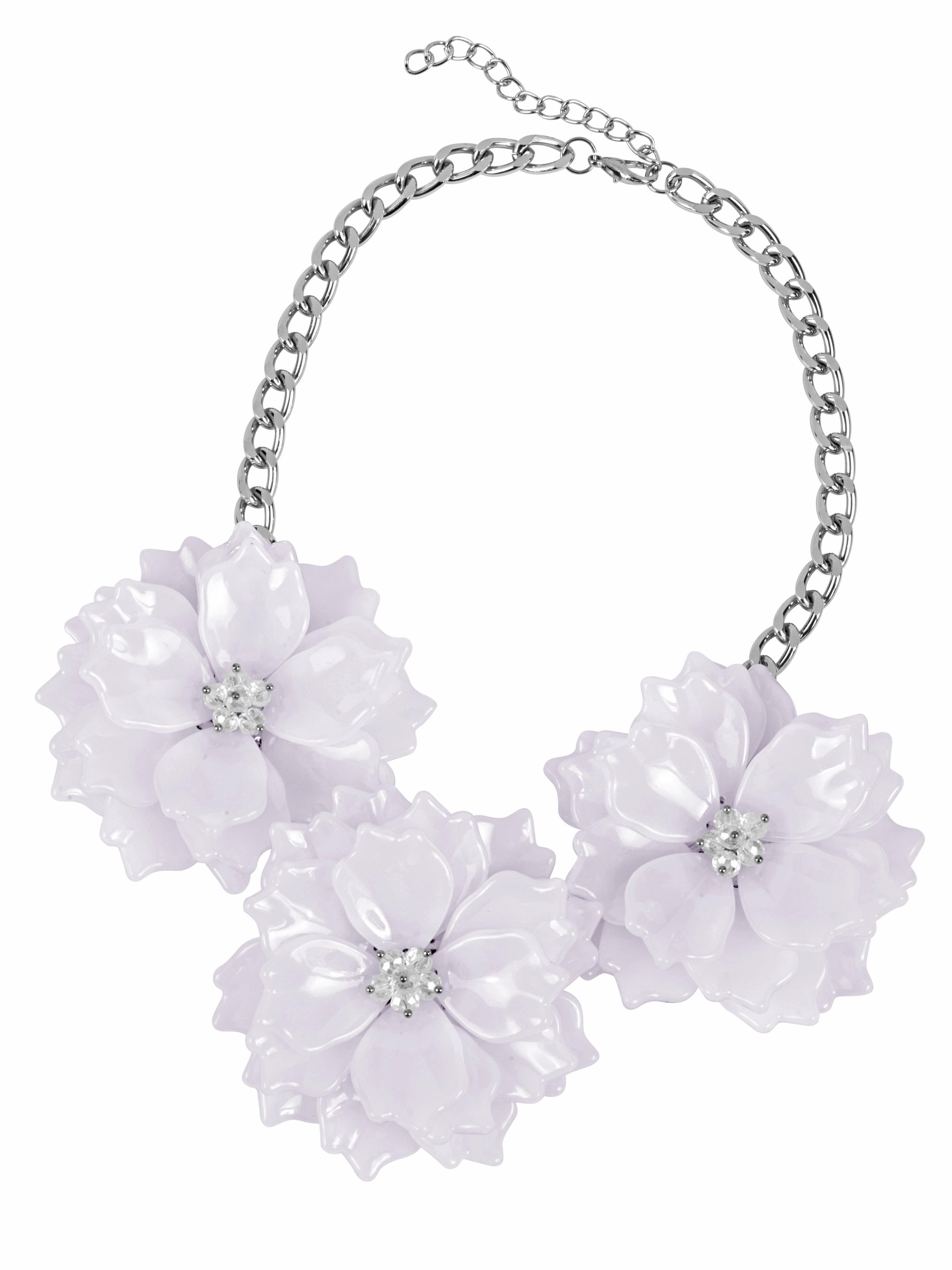 Heine Collier mit Blüten