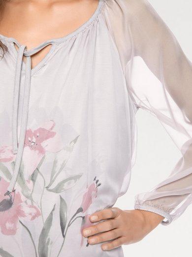Linea Tesini Par Tunique Heine Avec Motif Floral