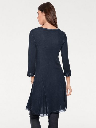 Linea Tesini By Heine Shirt Tunic With Sequins