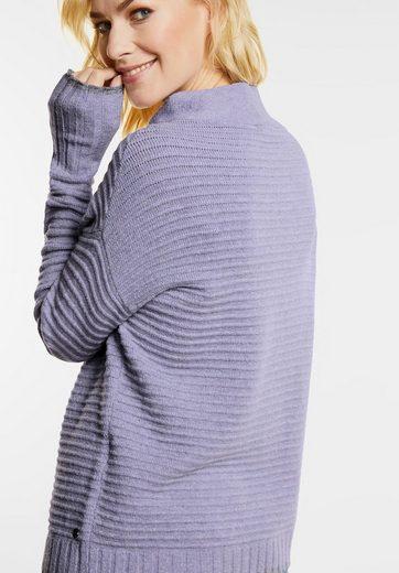 CECIL Streifen Stehkragen Pullover