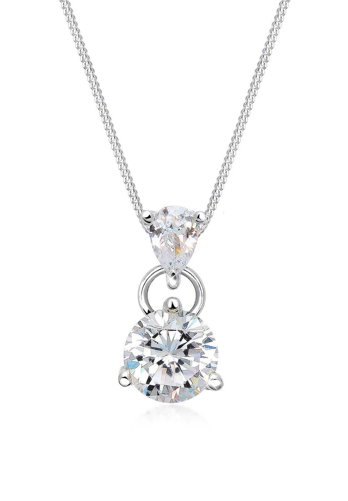 Elli Halskette »Zirkonia 925 Sterling Silber«