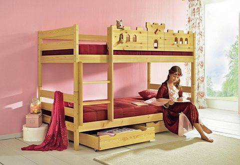 etagenbett silenta made in germany online kaufen otto. Black Bedroom Furniture Sets. Home Design Ideas