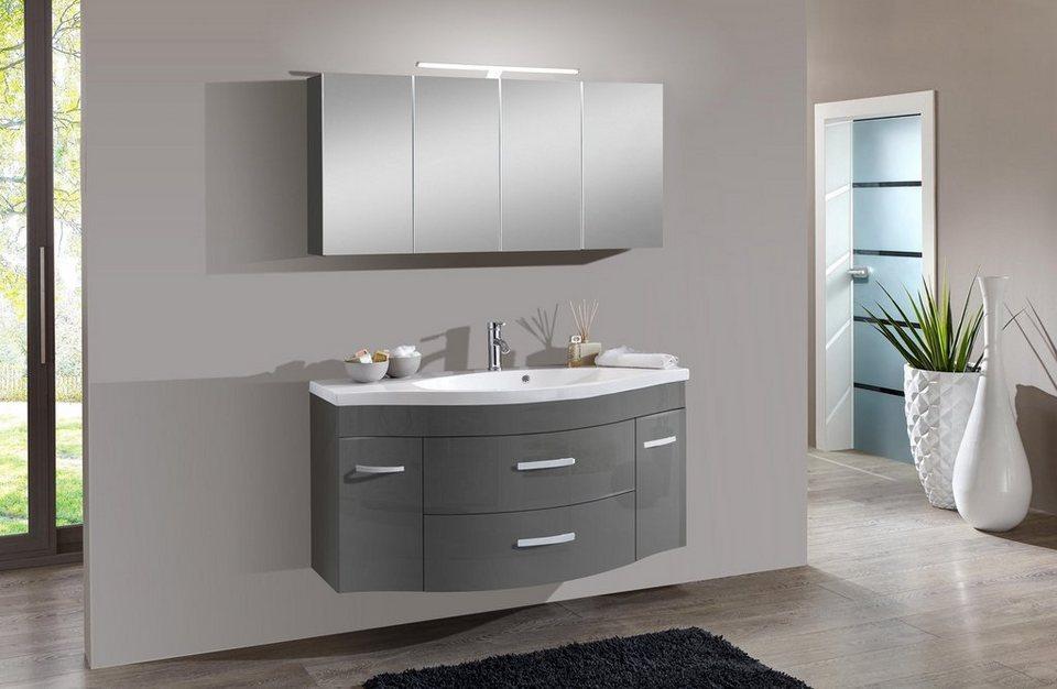salesfever badm bel set breite 130 cm 2 tlg luan online kaufen otto. Black Bedroom Furniture Sets. Home Design Ideas