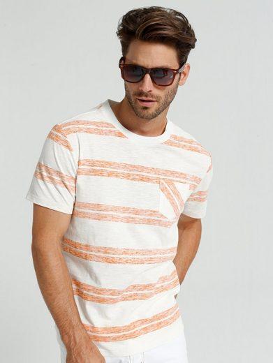 Babista T-Shirt von innen bedrucktes Streifendessin