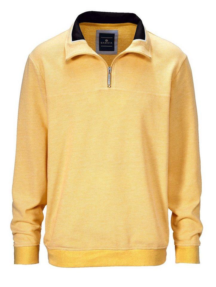 87f15129dae2 Babista Sweatshirt in zweifarbiger Reiskornstruktur online kaufen   OTTO