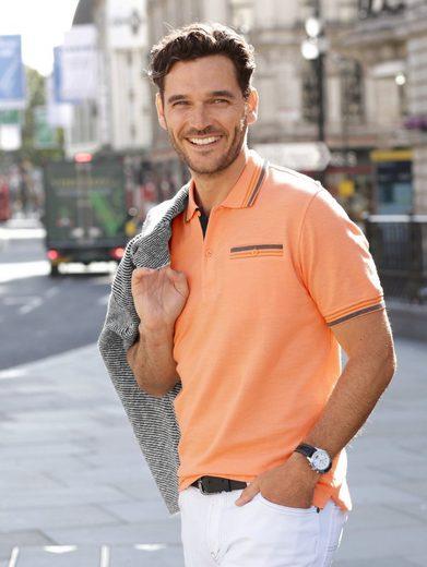Babista Poloshirt mit garngefärbten Details