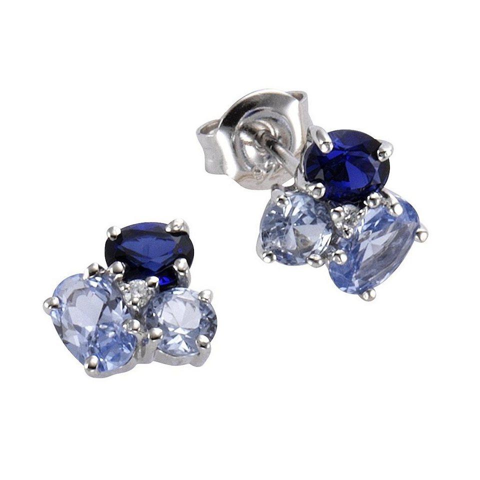 c27561374558 CELESTA Ohrstecker »925 - Sterling Silber rhodiniert« online kaufen ...