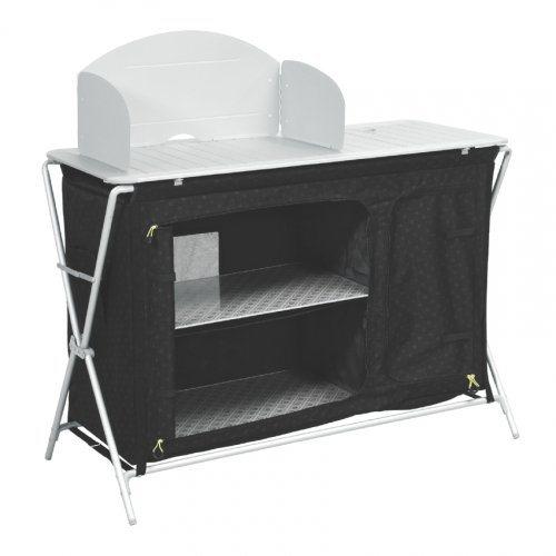 outwell campingmöbel »richmond küchentisch m waschbecken