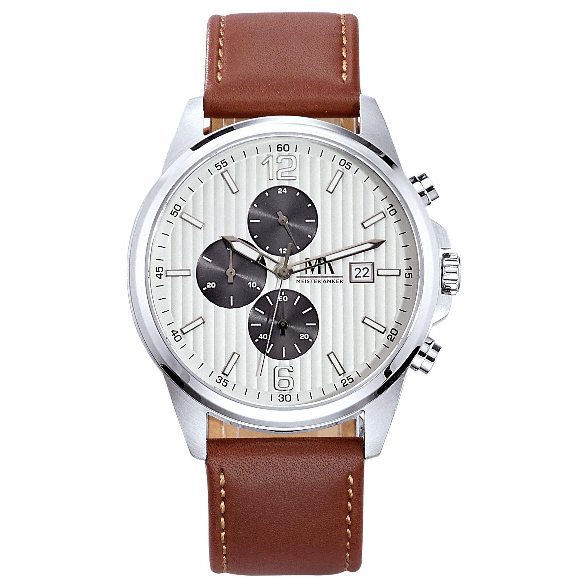 Meister Anker Chronograph »Edelstahl«