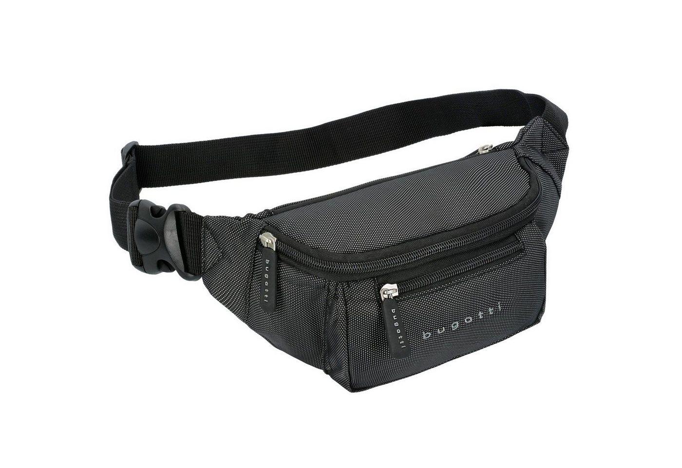 bugatti Lima Gürteltasche 22 cm extrem leicht | Taschen > Gürteltaschen | Grau | Polyester | bugatti
