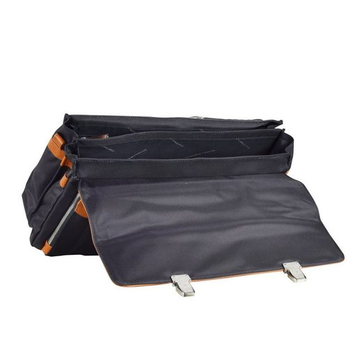 Piquadro Link Briefcase Leather 42 Cm Compartment