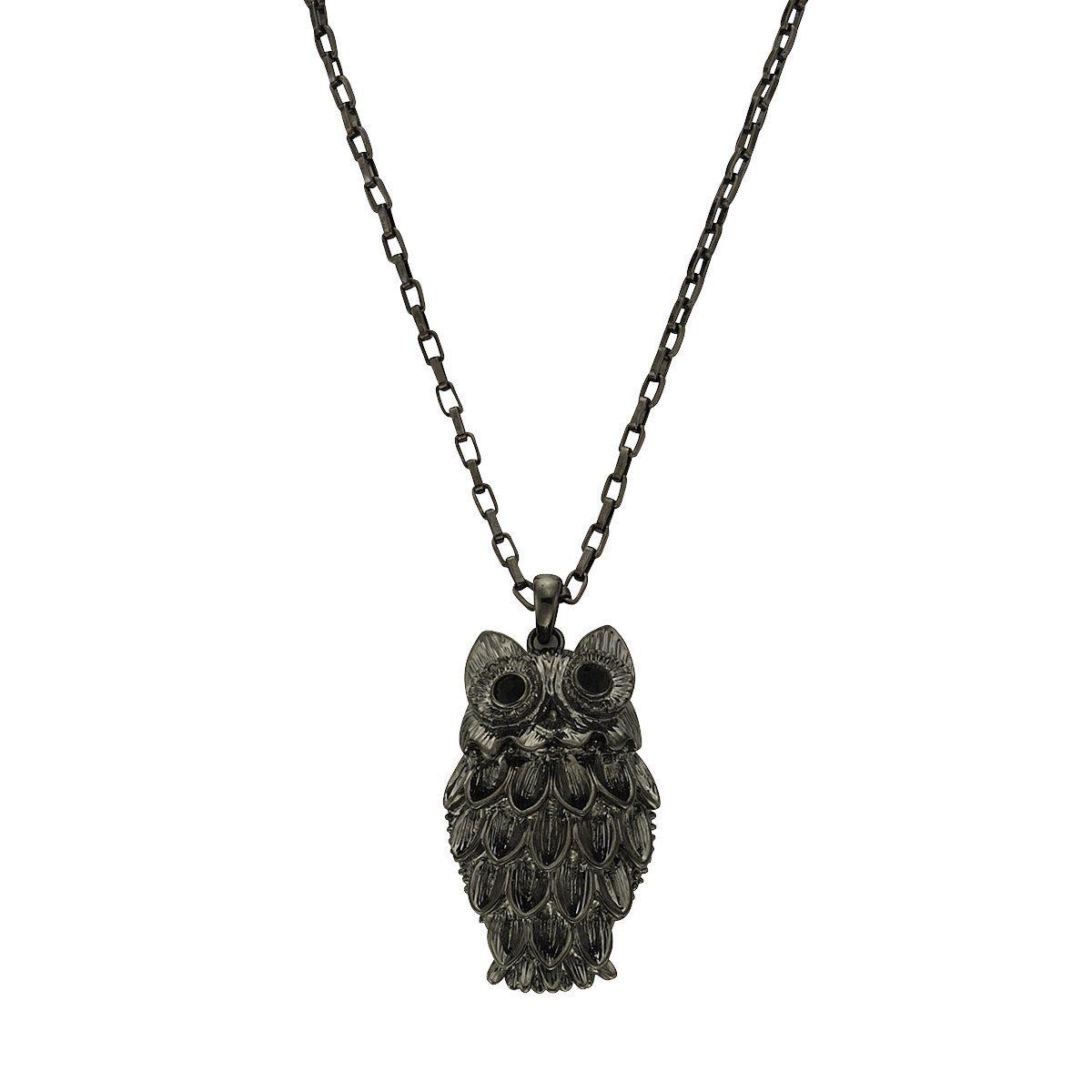 Zeeme Collier »Metall schwarz Kristalle schwarz«