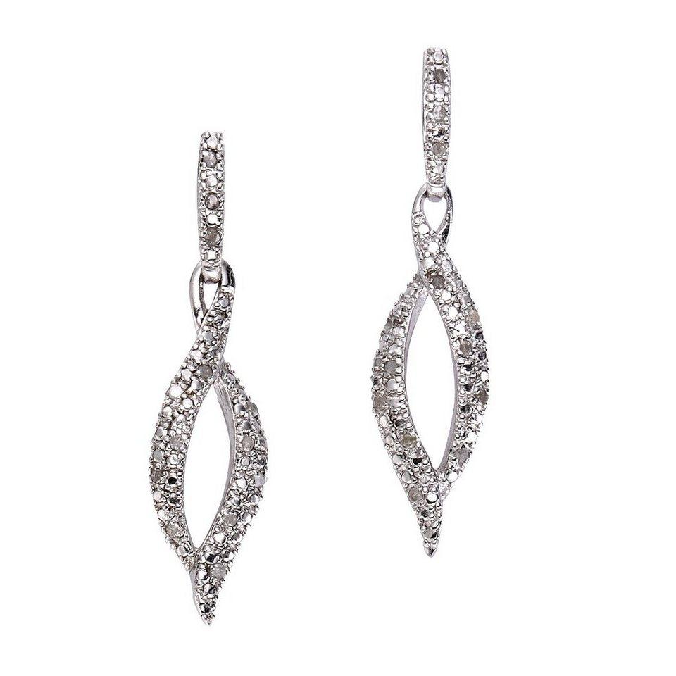 43cf80368eab Diamonds by Ellen K. Ohrhänger »925 - Sterling Silber Diamant 0,26ct ...