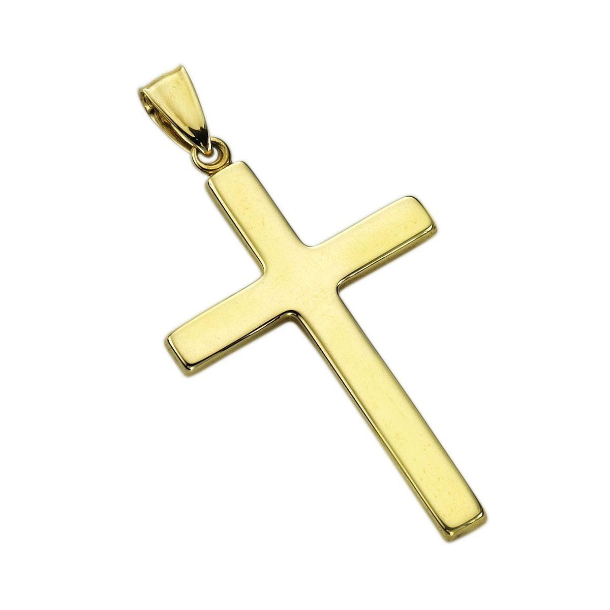 Fascination by Ellen K. Anhänger »333/- Gelbgold Kreuz«
