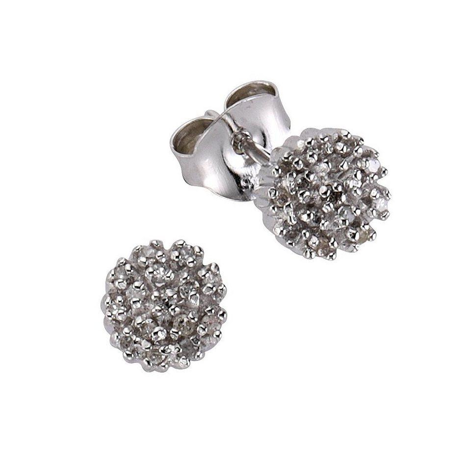 24c6fd3338e7 CELESTA Ohrstecker »925 - Sterling Silber 20xDiamant« online kaufen ...