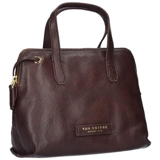 The Bridge Plume Soft Donna Schultertasche Leder 22,5 cm