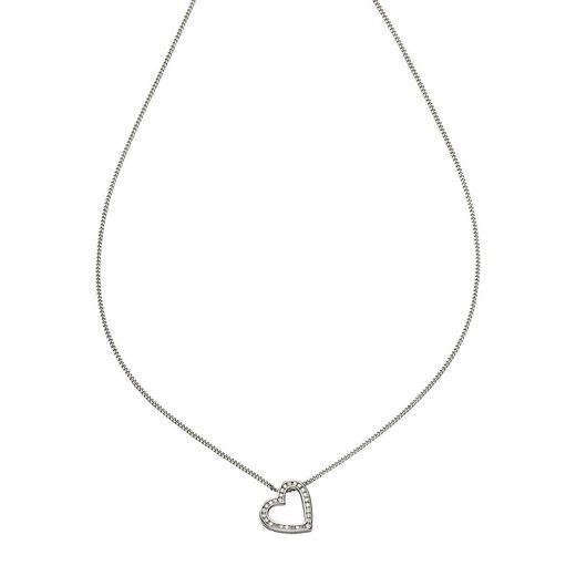 Diamonds by Ellen K. Anhänger mit Kette »585/- Weißgold Brillant 0,22ct.«