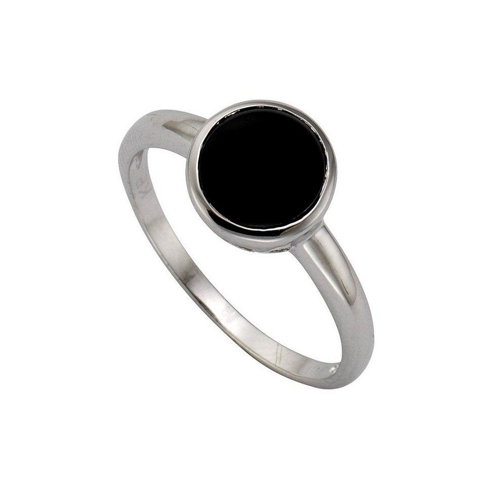 zeeme ring 925 sterling silber zirkonia schwarz. Black Bedroom Furniture Sets. Home Design Ideas