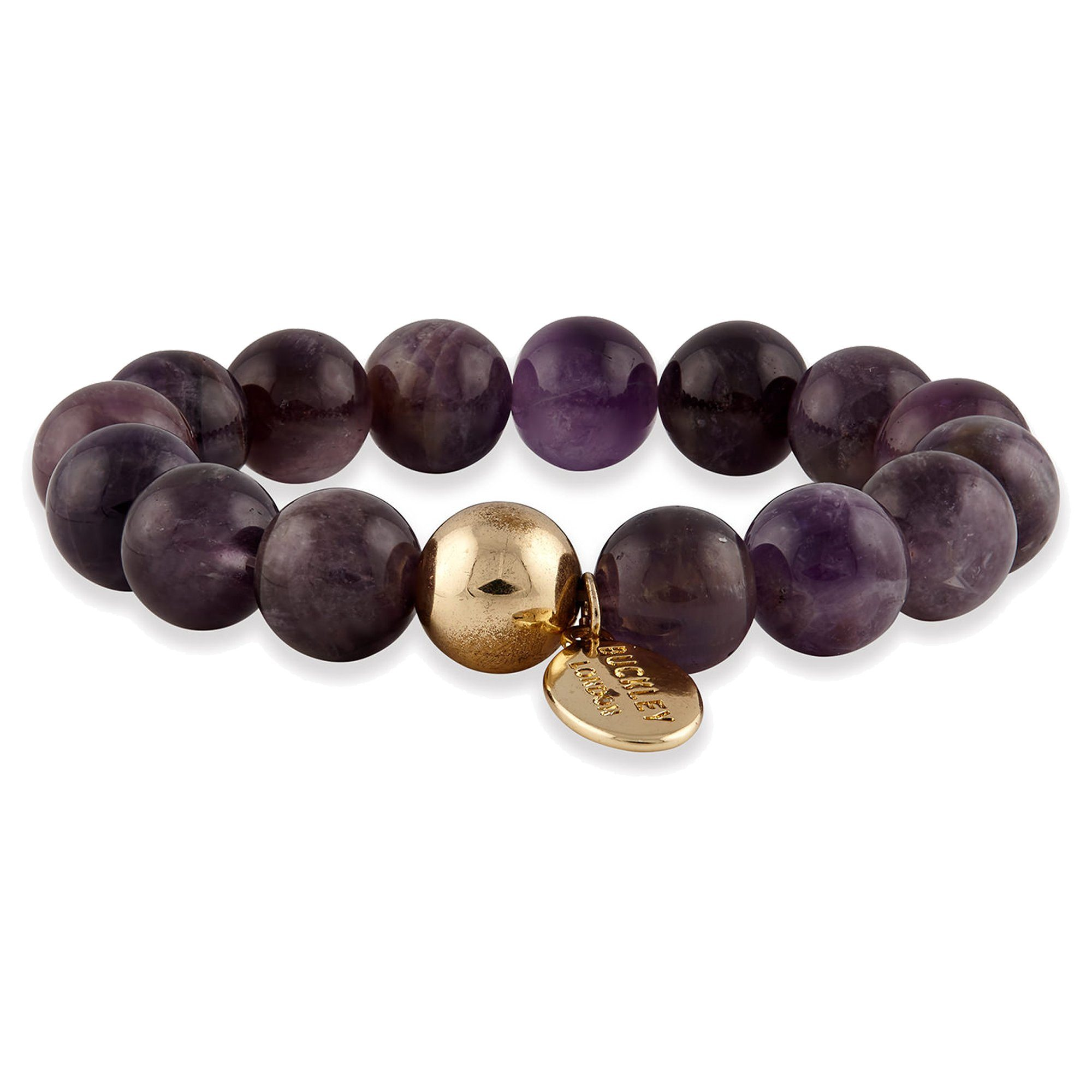 Buckley London Armschmuck »vergoldet mit Amethyst«