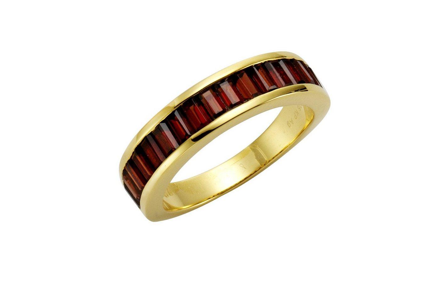 Jamelli Ring »925/- Sterling Silber Granat«   Schmuck > Ringe > Silberringe   Gelb   Jamelli