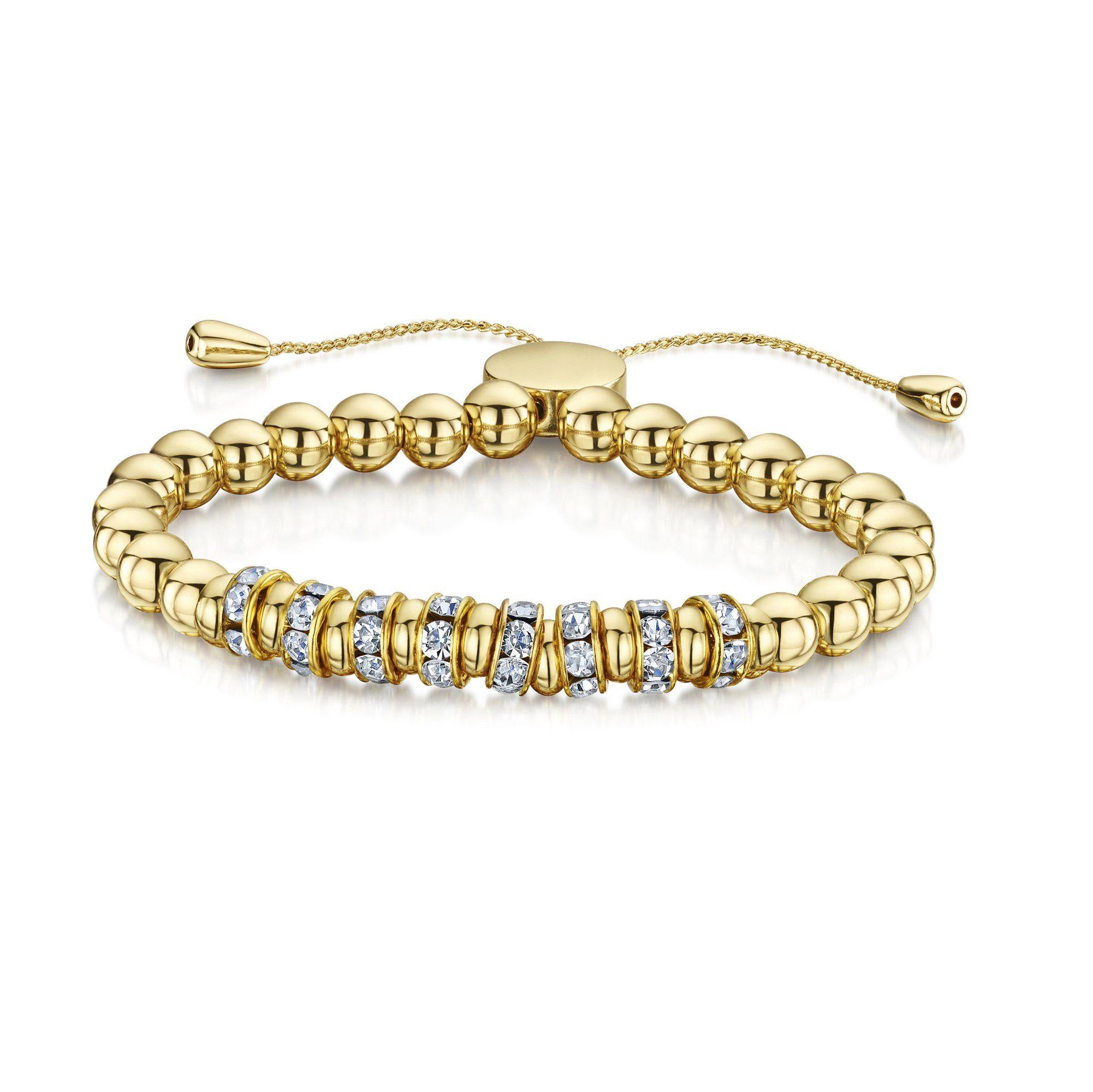 Buckley London Armschmuck »goldfarben mit Kristallen«