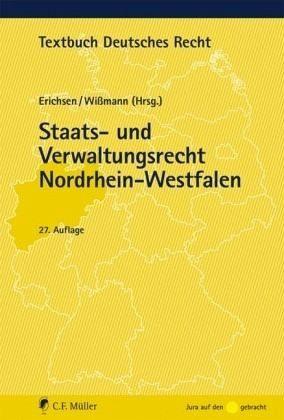 Broschiertes Buch »Staats- und Verwaltungsrecht Nordrhein-Westfalen«